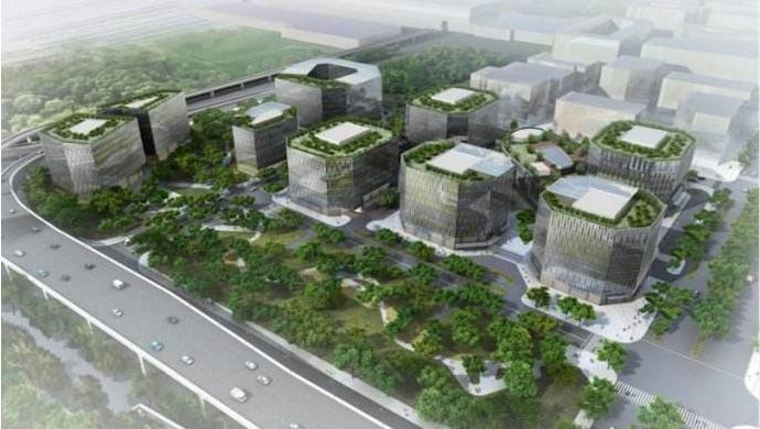 上海市人大工作研究会一行来奉调研产业园区转型升级工作